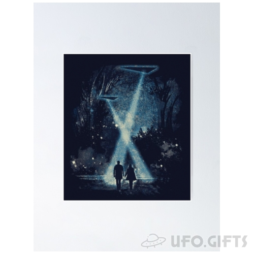 Triangle UFO Poster - X-Files
